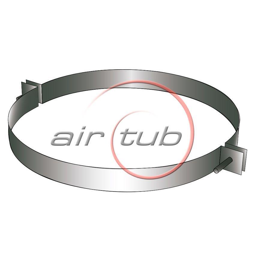 ABRAZADERA SIMPLE SOPORTE AIR GALVA AIRTUB