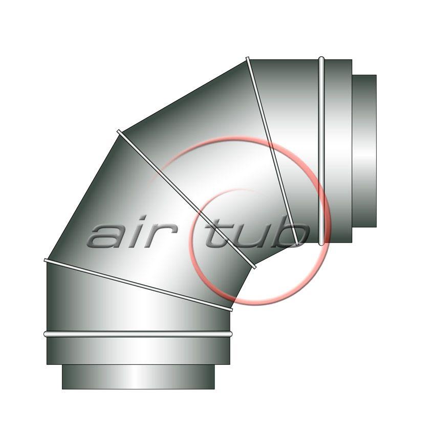 CODO 90 DOBLE AISLADO AIR TERMIC AIRTUB
