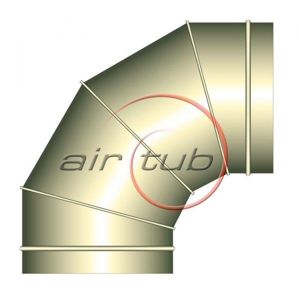 CODOS 90 INOXIDABLES INOX CURVAS HELICOIDALES AIR INOX AIRTUB