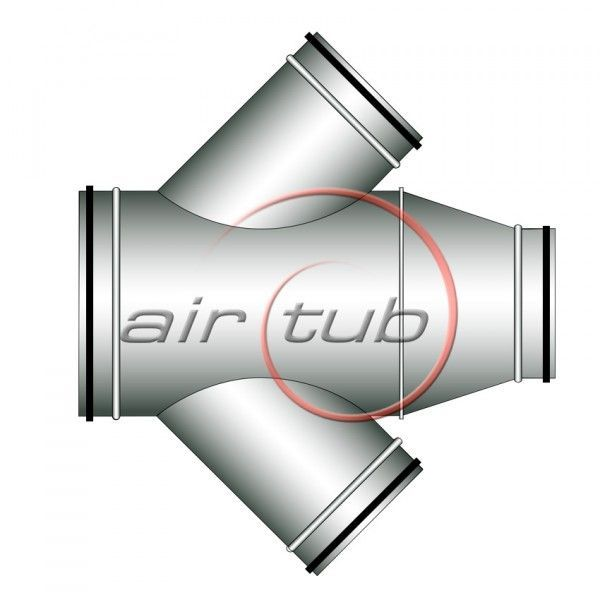 CRUCES CONICAS 45 JUNTA GOMA AIR HERMETIC AIRTUB