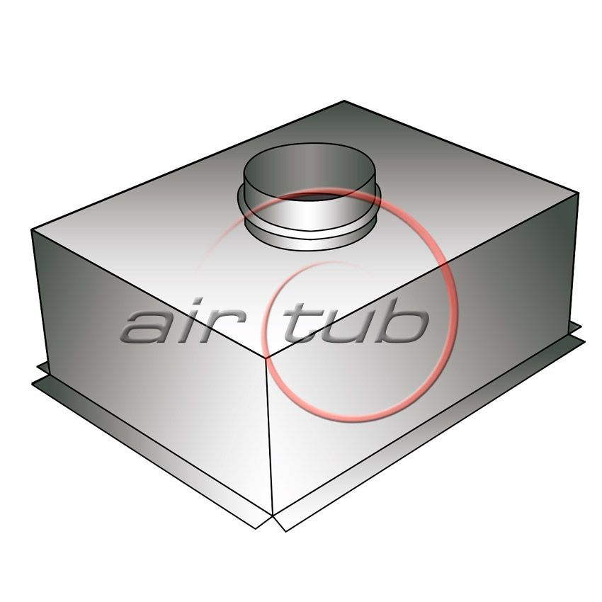 PLENUM FRONTAL REJA AIR GALVA AIRTUB CAJON