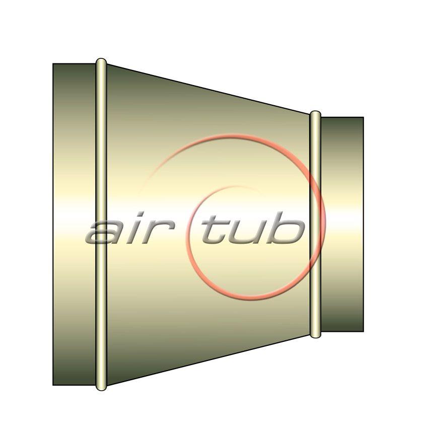 REDUCCIONES CONCENTRICAS INOXIDABLES AIR INOX AIRTUB