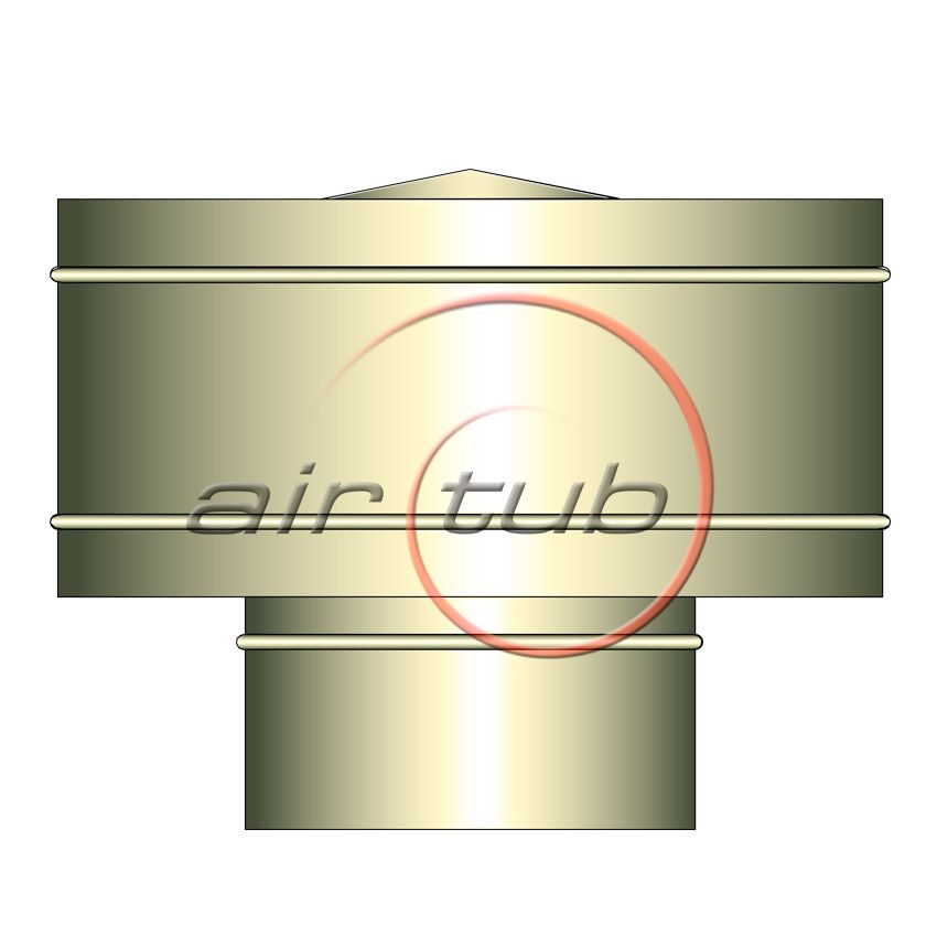 SOMBREROS ANTIRREGOLFANTES INOXIDABLES AIRTUB AIR INOX
