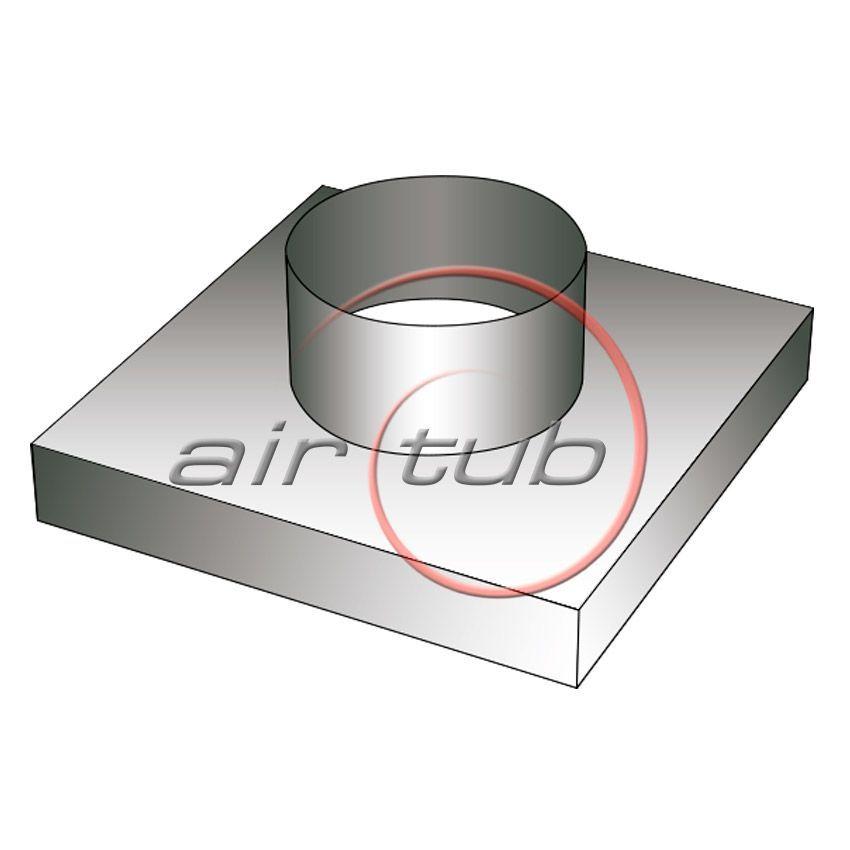 TAPA CUELLO STANDARD ASPIRACION AIR GALVA AIRTUB