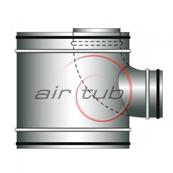 TE AIRSHUNT JUNTA GOMA CTE VENTILACION COCINAS AIR SHUNT AIRTUB