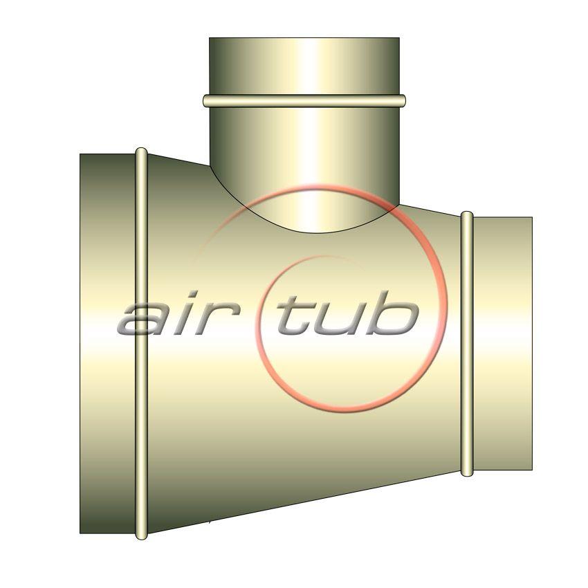 TES CONICAS 90 INOXIDABLES CIRCULARES HELICOIDALES AIR INOX AIRTUB