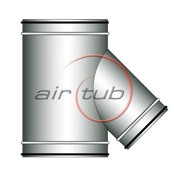 TES REDUCCION 45 JUNTA GOMA VENTILACION MECANICA AIR HERMETIC AIRTUB