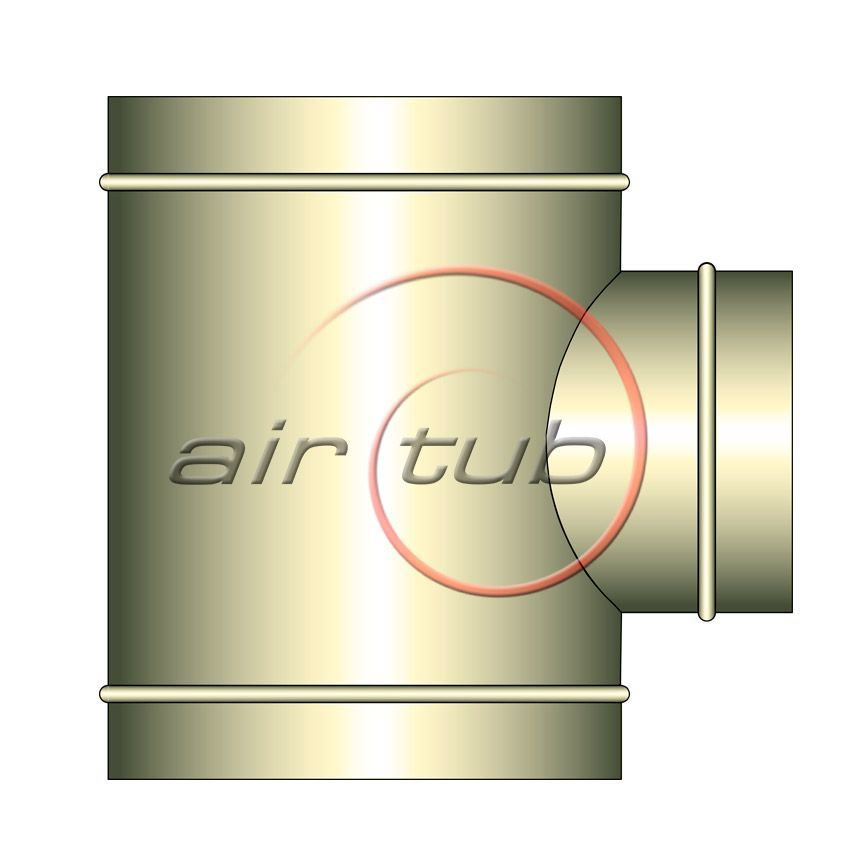 TES REDUCCION 90 AINOXIDABLES AIR INOX AIRTUB