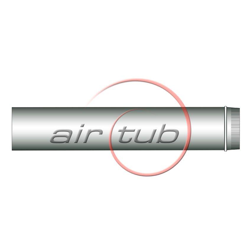 TUBO LISO AUTOCONECTABLE MACHO HEMBRA AIR GALVA AIRTUB CIRCULAR